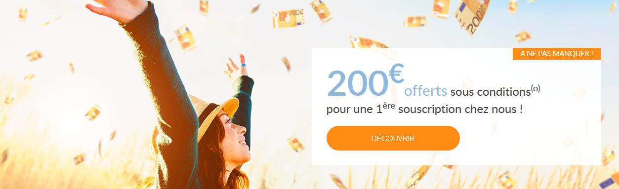 linxea offre 200 euros